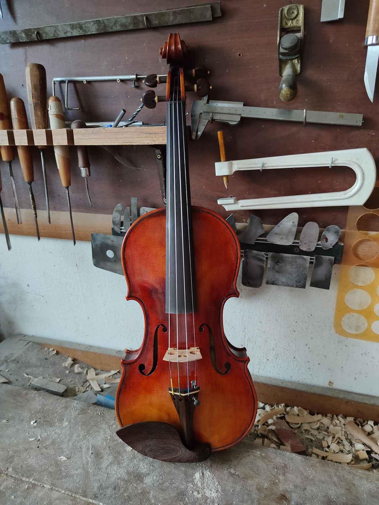 Petko Petkov Violins Guarnieri Vieuxtemps For Sale