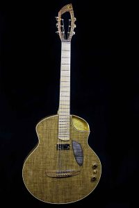 Fred Kopo Guitars Berline #1 For Sale Gold and Linen
