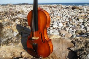 William A Mackay Violin based on 1734 Guarnerius For Sale