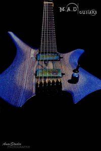 MAD Guitars No Mad Blue Cobalt