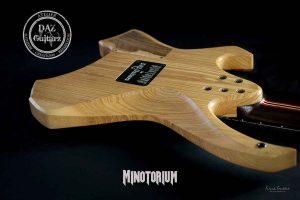 Daz Guitarz Minotorium Headless 7-string multiscale guitar
