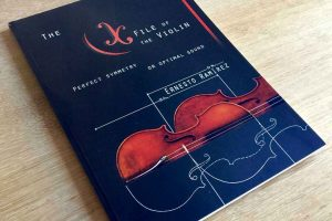Ernesto Ramirez Luthier Book The X File of the Violin