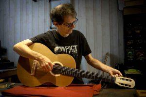 Hervé Berardet Luthier Interview 1 Background