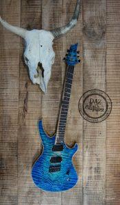 Daz Guitarz Antarés Mojave blue
