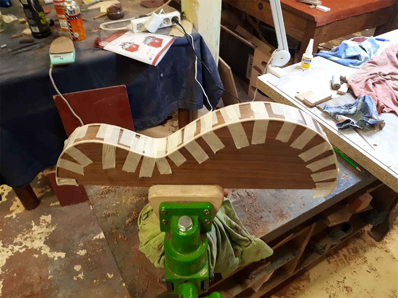 Luthier Hervé Berardet Osiris Modèle